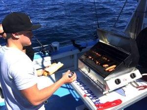 Blue Fisher - Fishing Charter Cronulla BBQ