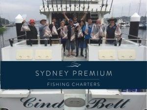 Weekend morning fishing charter Cindy Bett Cronulla