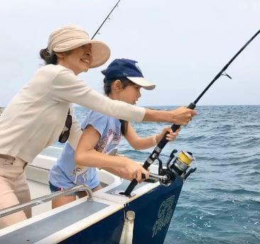 summer fishing off Sydney, Cronulla