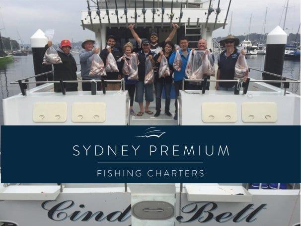 Blue fisher winter deep sea fishing Sydney