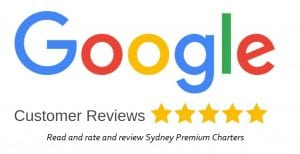 Sydney Premium Charters Google Reviews