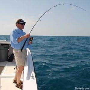 Strike angler fishing