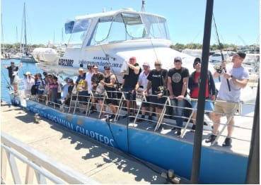 Blue Cat fishing charter boat Cronulla Sydney