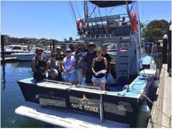 Blue Fisher Christmas fishing gift voucher