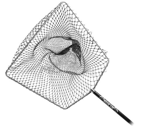 Knotless fishing landing net